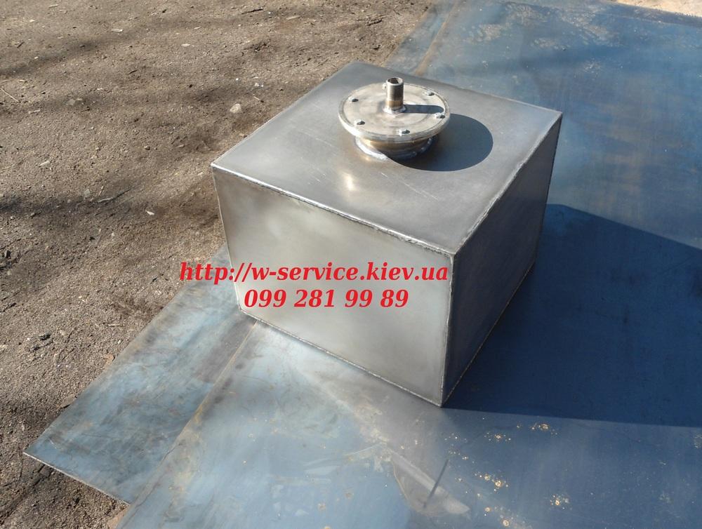 Бак для воды своими руками из металла чертежи 182