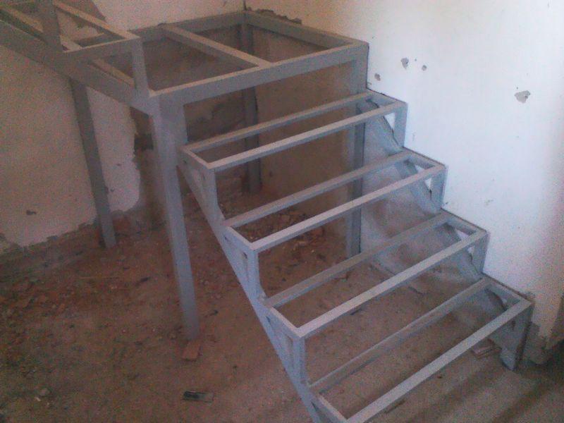 Металлический каркас лестницы своими руками фото 229
