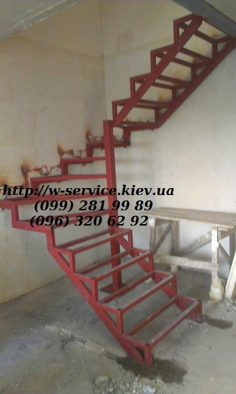 Лестница из металла своими руками ютуб 20