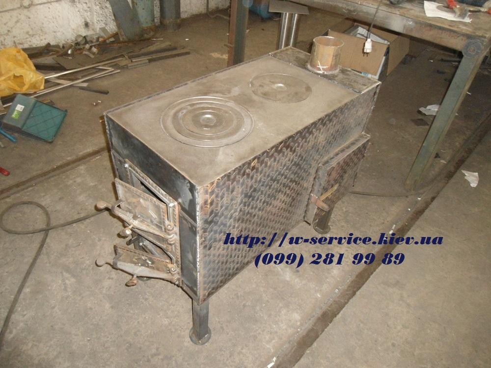 Ютуб печь для гаража своими руками на дровах