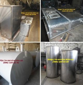Металлические баки и емкости